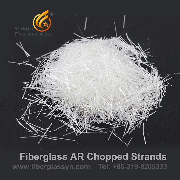 Hilos tajados fibra de vidrio de Zro2 16.5% AR