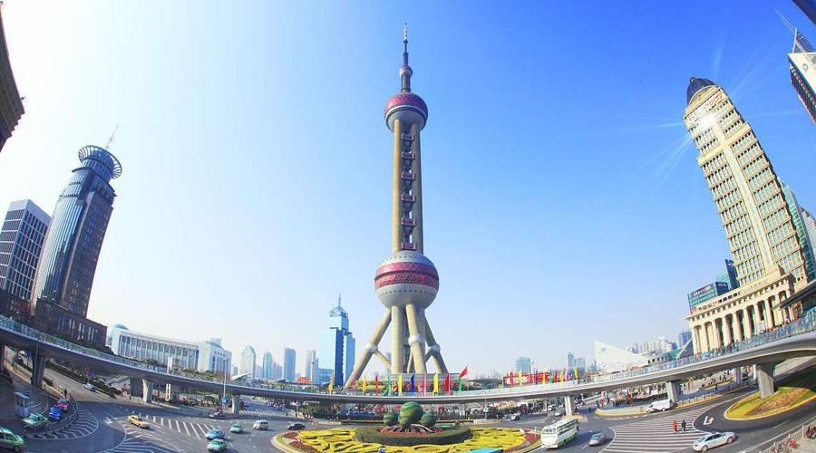 La torre oriental de la perla