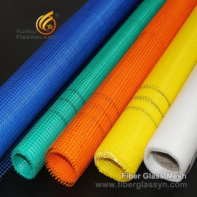 Las características y la presentación del acoplamiento resistente de la fibra de vidrio del álcali, fibra de vidrio de YuNiu
